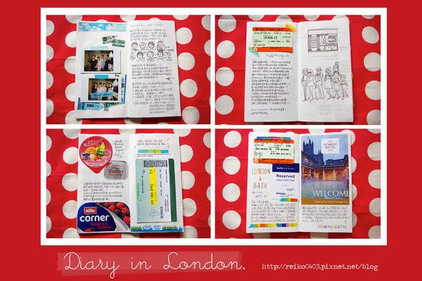 成為小留學生後的倫敦手帳,八月和九月一點點。