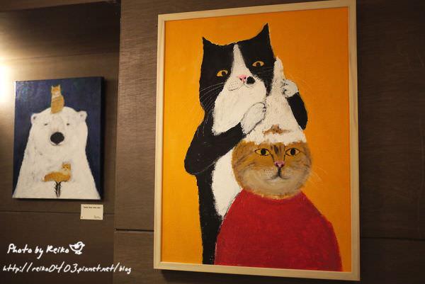 [看看展] 貓咪在做什麼?Pepe桑的可愛個展@學校咖啡EcoleCafe