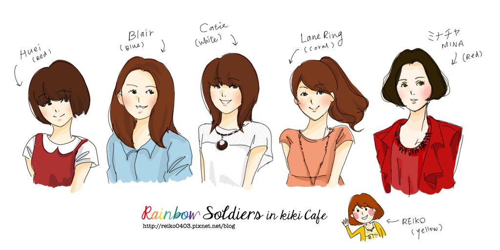 咖啡廳日記│與女孩們的彩虹戰隊聚會,KIKI CAFE