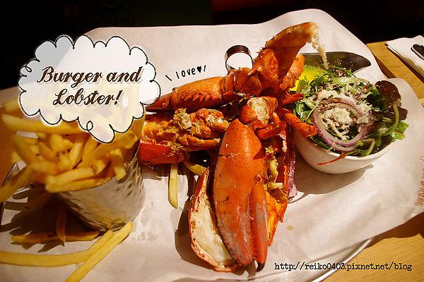[倫敦] 誰說英國沒美食?超新鮮多汁的龍蝦料理Burger and Lobster