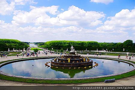 [巴黎]2011.7.15 極盡奢華的凡爾賽宮