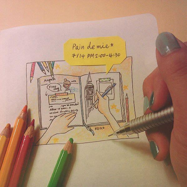 [活動] 7/14課程:色鉛筆x手帳小教室,一起來畫畫!