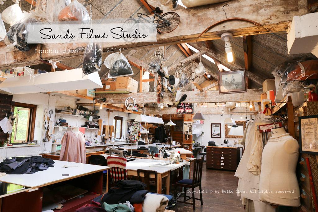 [London Open house] 一窺世界最強的古典戲劇服裝間!Sands Films Studio